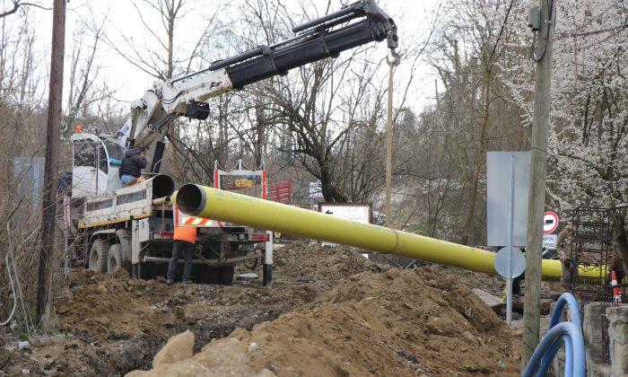 Kavak'ı doğalgaz ile buluşturacak çalışmalarda sona gelindi