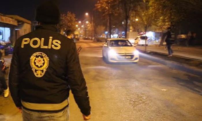 'Türkiye Huzur Güven Uygulaması' kapsamında çok kişi yakalandı