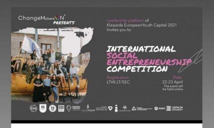 OMÜ Öğrencileri Litvanya'daki Uluslararası Sosyal Girişimcilik Yarışması'nda İkinci Oldu