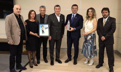 TSYD yönetim kurulu Ekrem İmamoğlu'nu ziyaret etti