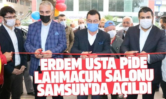 Erdem Usta pide lahmacun salonu Samsun'da açıldı