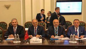 Erhan Usta KEİPA Türk grubu ile birlikte kiev'de