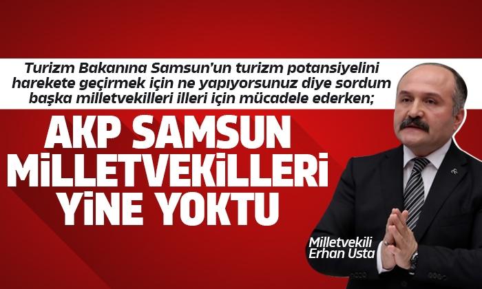 Milletvekili Usta Samsun'un Turizmi ile ilgili konuştu