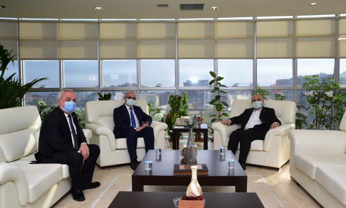 İYİ Parti Samsun Milletvekili Erhan Usta'dan Nezaket ziyareti