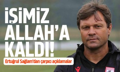 Sağlam Menemenspor maç sonucunu değerlendirdi