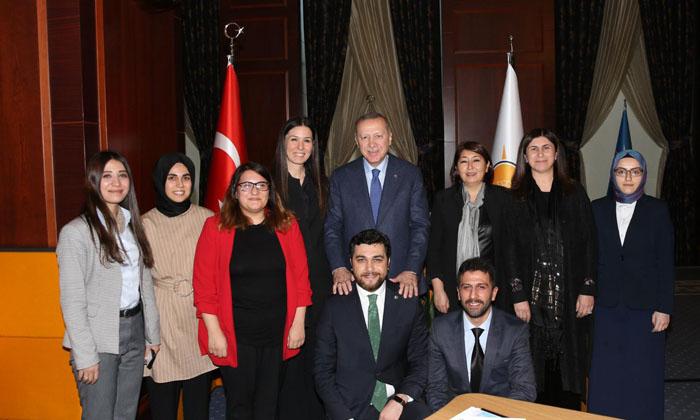 Sürdürülebilir şehirler çalıştay'ına Cumhur Başkanı Erdoğan'dan Destek