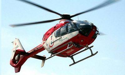 112 Helikopter Ambulansının Tarlaya İnmesine İzin Vermeyen Kişilere Gözaltı!