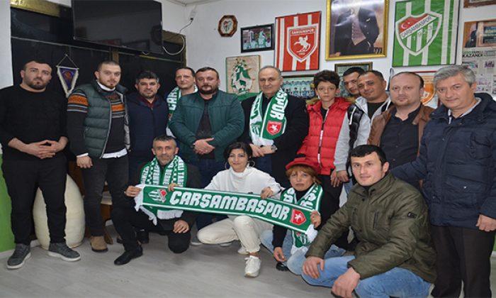 Genç Parti'den Çarşambaspor Taraftarlar Derneği'ne ziyaret