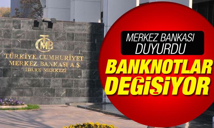Merkez Bankası açıklama yaptı