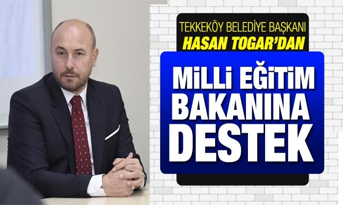 Bakana Tekkeköy'den tam destek