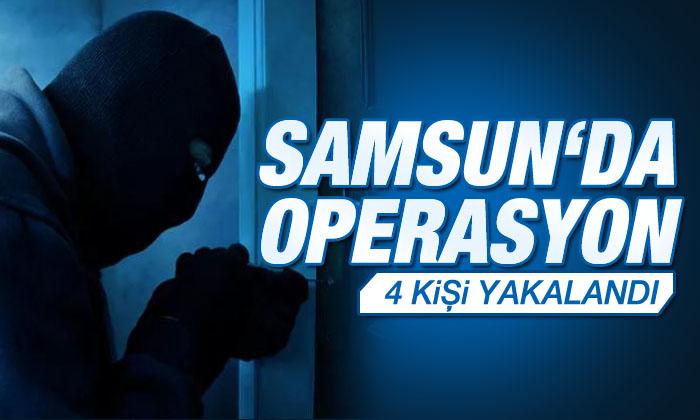 Samsun'da Yapılan Operasyonlarda 4 Şahıs Yakalandı