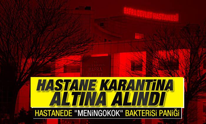 Devlet Hastanesi karantinaya alındı iddiası