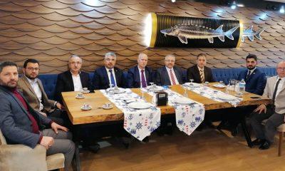 Cumhur İttifakı'nın Samsun İl Başkanları bir arada