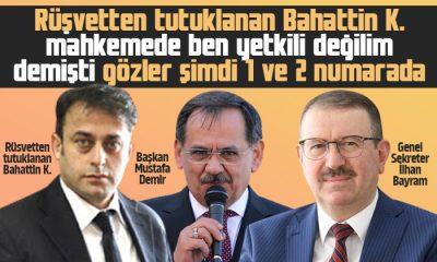 Bahattin K.'nın Mahkemesinde gözler Mustafa Demir ve İlhan Bayram'a Döndü