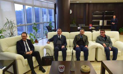 OMÜ Rektörü Prof. Dr. Sait Bilgiç'e nezaket ziyareti