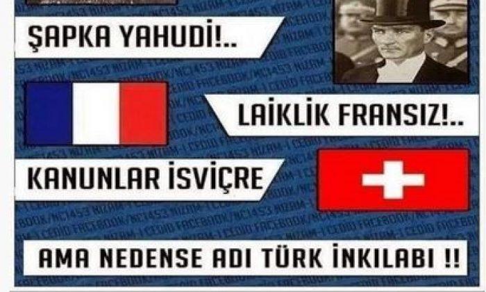 Samsun'da AK Partili Başkanvekilinden Atatürk'e çirkin ithamlar