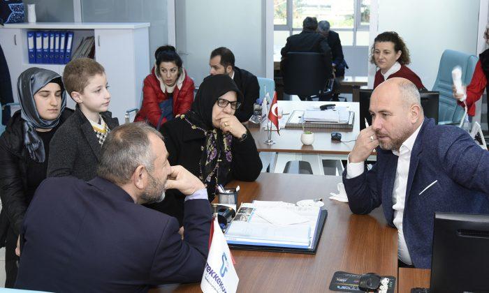 Togar, Tekkeköy gönül belediyeciliği ile buluştu