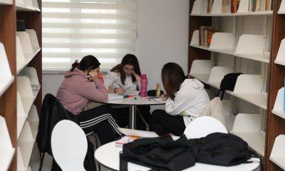 Halk Kütüphanesine öğrenci ve vatandaşlardan yoğun ilgi