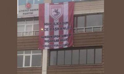Tüm teşkilatlarımızla Samsunspor'un yanındayız