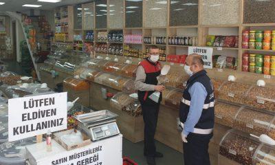 Samsun Büyükşehir Belediyesi zabıta ekipleri  denetimlerini sürdürüyor