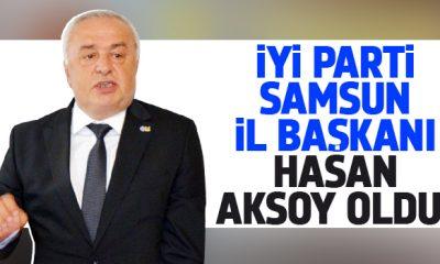 İYİ Parti Samsun'da Hasan Aksoy Dönemi