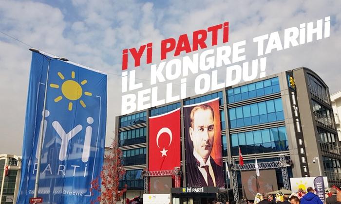 İYİ Parti il kongresi pazar günü yapılacak