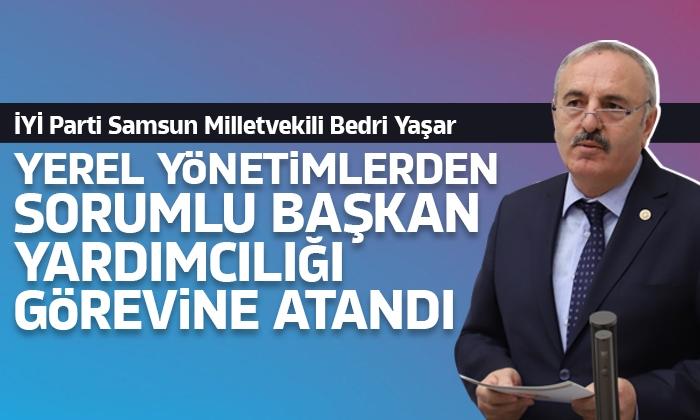 Milletvekili Yaşar'a önemli görev
