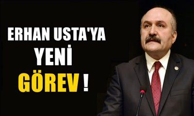 İYİ Parti Samsun Milletvekili Erhan Usta'ya Yeni Görev