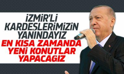 Erdoğan: Vatandaşlarımıza evlerinin yenilerini yapıp teslim edeceğiz