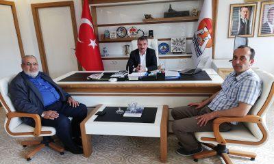 Havza İlçe Müftüsünden Başkan Özdemir'e ziyaret