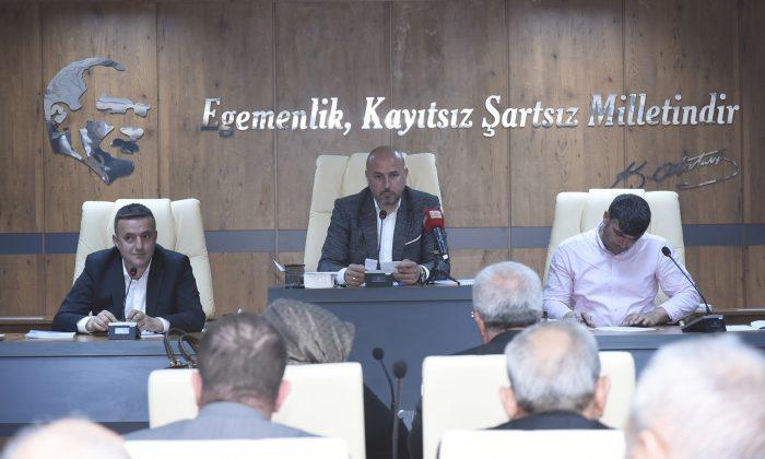 Tekkeköy Belediyesi ilk meclis toplantısı yapıldı