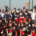 Başkan Demirtaş minik sporcuları ziyaret etti