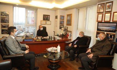 Başkan Demirtaş iş adamlarına yönelik ziyaretlerine devam ediyor