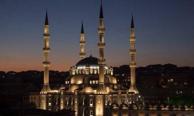 Samsun'da akşam ezanı erken okundu