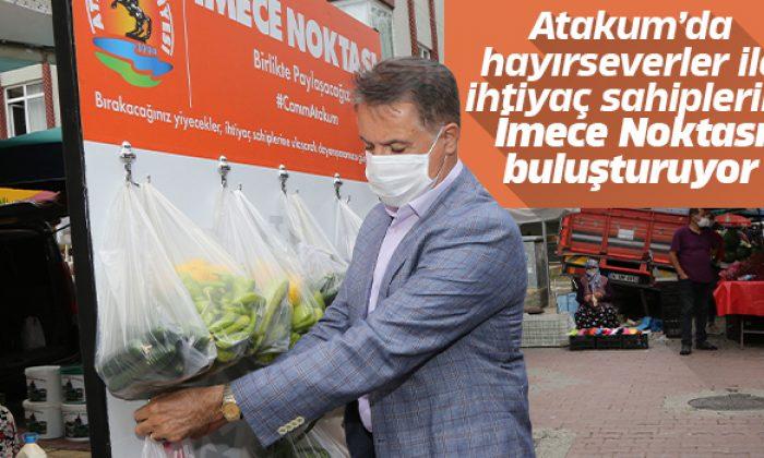 Başkan Cemil Deveci alışveriş yaptı İmece Noktası'na destek oldu