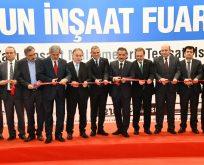 Tüyap inşaat fuarı Samsun'da 5. kez kapılarını açtı