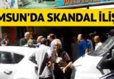 Samsun'da Skandal İlişki!