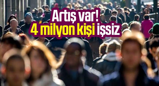 Türkiye'de işsiz sayısı 4 milyon 566 bin kişi oldu