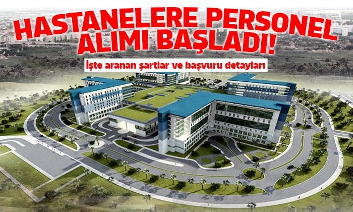 Hastanelere personel alımları başladı!