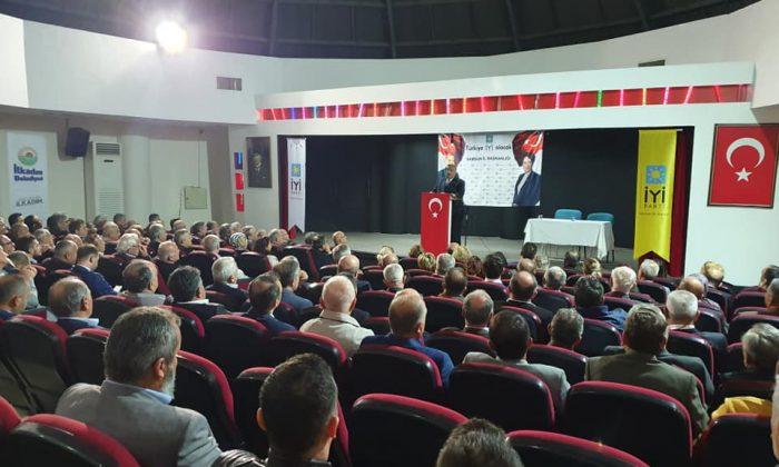 İYİ Parti Teşkilat Başkan Yardımcısı Osman Topal Samsun'da