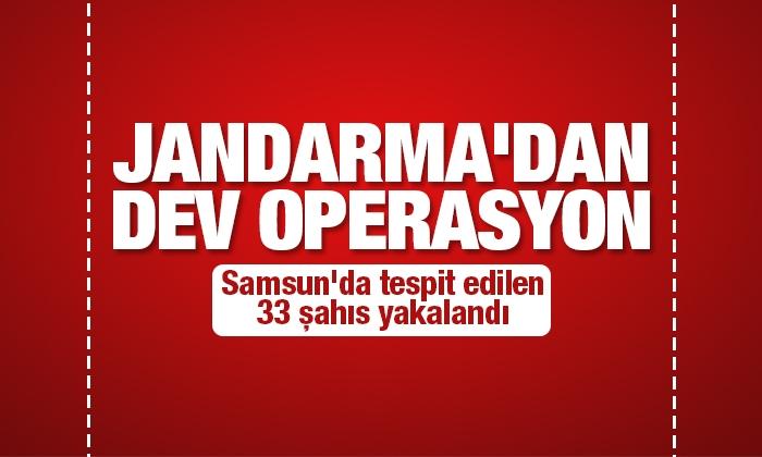 Jandarmada dev operasyon