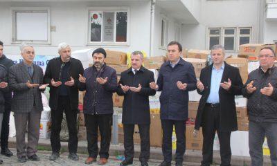 Havza Belediyesi'nden  Elazığ'a yardım