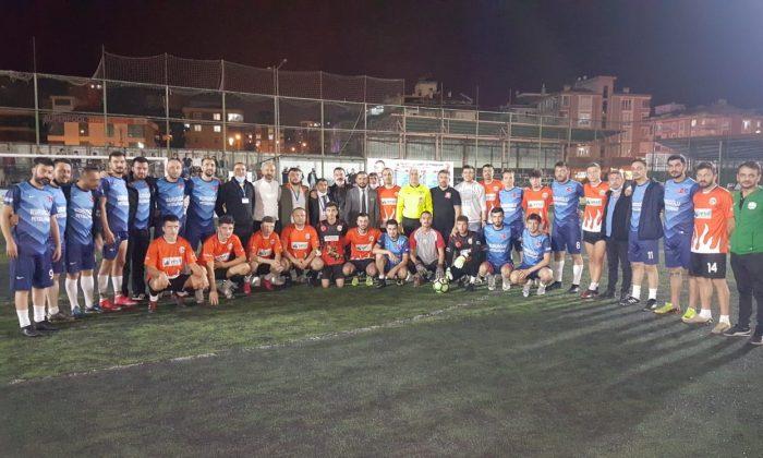 KA-DEF Gençlik Kolları 1. Halı saha turnuvasında şampiyon alagömlekspor oldu