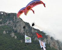 Bafra Kapıkaya Fest 3. Doğa Sporları Festivali başladı