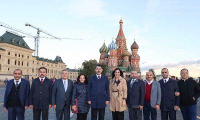 Milletvekili Karaaslan Moskova'ya gitti