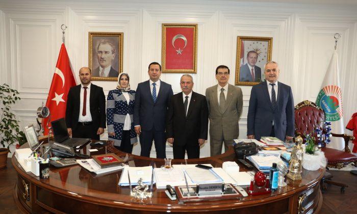 İki başkan arasında kardeş belediye protokolü imzalandı