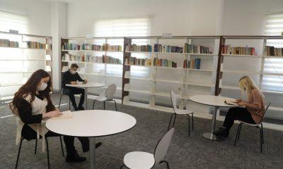 Kitaplar konuşuyor projesi kütüphane haftası ile İlkadım'da hayat buluyor