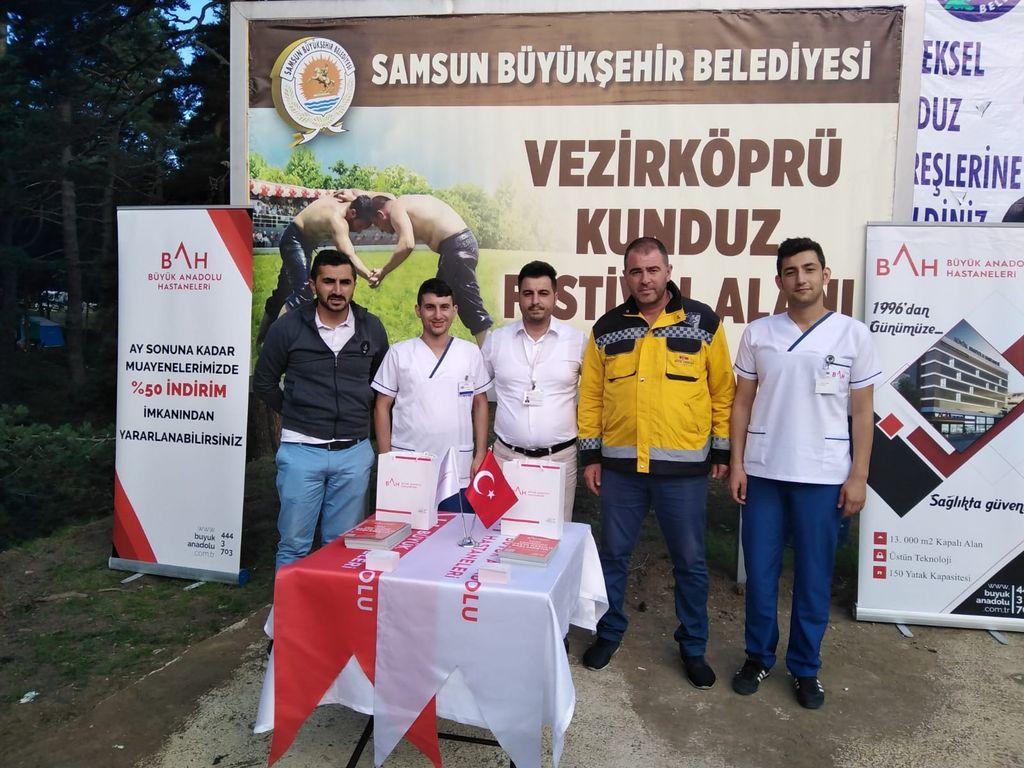 Büyük Anadolu Hastaneleri Kunduz Festivali'nde