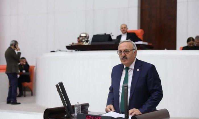Türkiye Büyük Millet Meclisi'nde konuştu