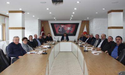 Havza'da meclis toplantısı gerçekleştirildi